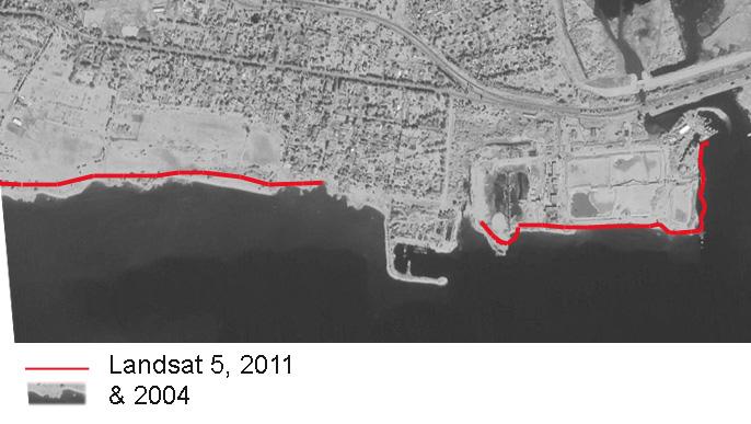 Lakhta Landsat 5