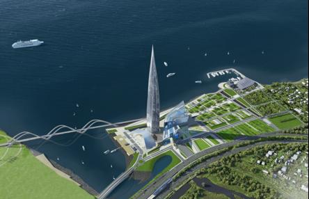 Проект общественно-делового центра «Лахта»